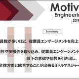 「従業員数と従業員エンゲージメントの関係」を定量的に分析した研究結果を公開