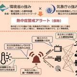 熱中症予防で連携強化/環境省・気象庁が新たな情報発信