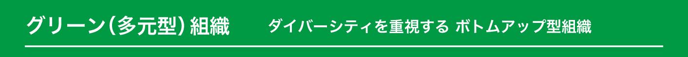 グリーン組織